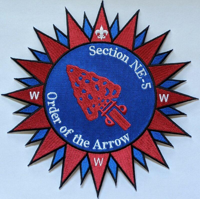 Section NE-5 2019 Northeast Region OA backpatch Order of the Arrow OA NE5