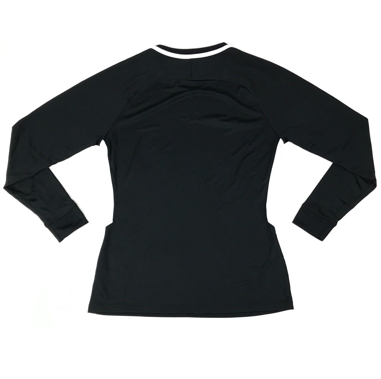 low priced 2827e 8a51a Details about New Nike Park 3 Soccer Goalkeeper Jersey Women s Medium Black Long  Sleeve