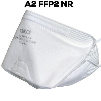 aka® FFP2 Masken 25er Set Atemschutzmaske FFP3 ohne Ventil CE Zertifiziert OP