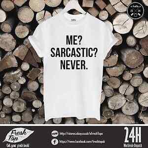 Me-sarcastico-never-Camiseta-FLAWLESS-PAREJA-unicornio-Geek-MARIHUANA-tumbrl