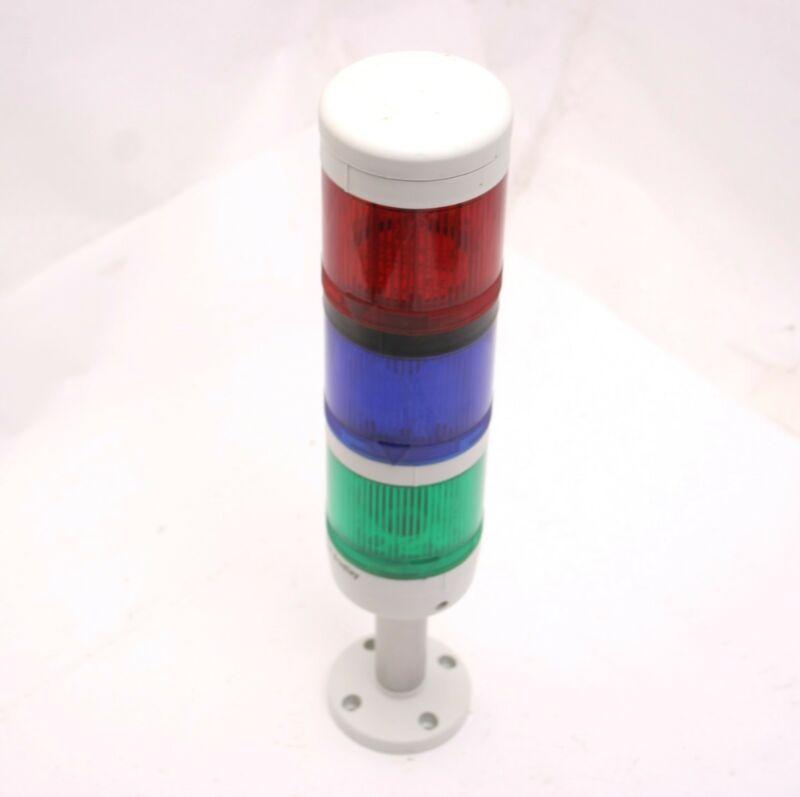 Allen Bradley Light Tower Red 855T-G24FN4, Green 855T-G24DN3, Blue 855T-B24DN6