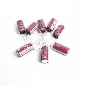 6pcs-33uf-250v-NCC-Radial-Electrolytic-Capacitors-10x20mm-KXJ