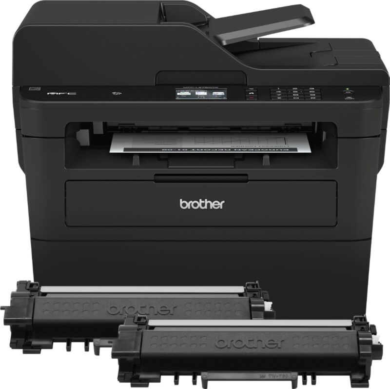 Brother MFC-L2750DW XL Wireless Black-and-White All-In-One Printer Gray MFC-L2750DW XL