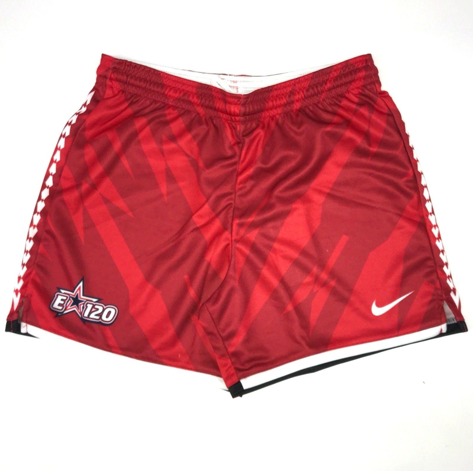Nike drifit cornell red youth lacrosse shorts nwt youth medium