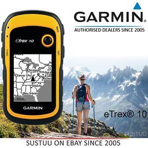 Garmin eTrex 10│Outdoor Handheld GPS Receiver│GLONASS│Geocache│Worldwide Basemap