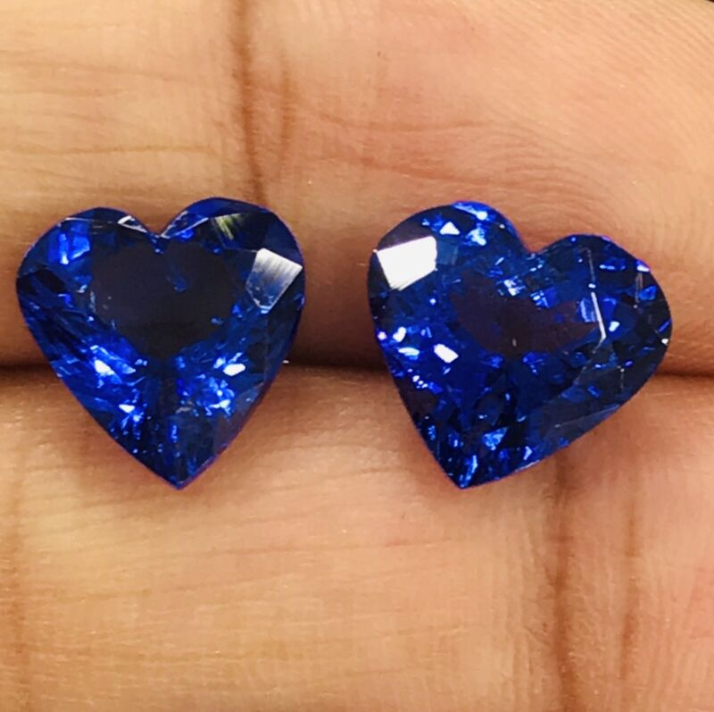 6.89cts Sparkle AAA Color IF Clarity Natural Blue Tanzanite Loose Gemstone
