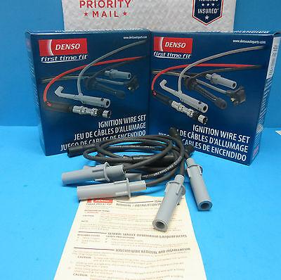 Ignition Spark Plug Wire Set DENSO Replaces Chrysler Dodge OEM# 16846E 3.3L 3.8L Chrysler Pacifica Spark Plug