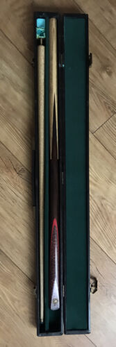 Cannon Snooker Pool Cue Ash And Rosewood In Case