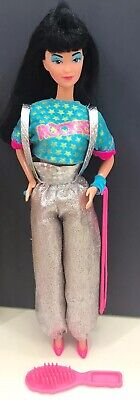 "1980s BARBIE & THE ROCKERS ""Dana"" Doll with HTF Accessories!"