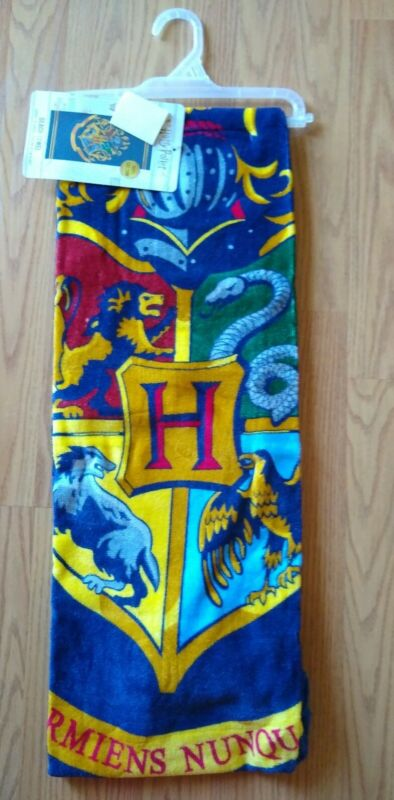 "Harry Potter Beach Towel 28"" x 58"" Boys Girls Kids Sand Ocean NEW NWT"