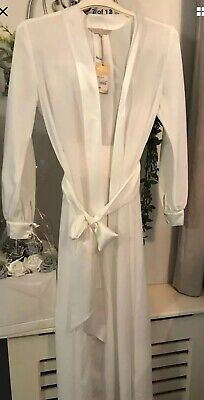 JENNY PACKHAM BRIDAL / SPECIAL OCCASION DRESSING GOWN SIZE 8/10