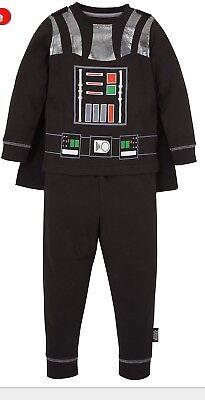 Children's Dress Up Star Wars Darth Vader, Glow In The Dark, Costume, Christmas