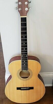 Washburn Acoustic Folk Guitar Model F8 Dreadnought w/ World Class Backpack Case