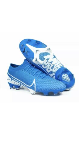 $150 Nike Mercurial Vapor 13 Pro FG Soccer Cleats Blue AT7901-414 Men