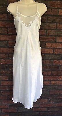 Honeymoon Nightgown Small Etonne by Sarah Richards Ivory Glamour Sleep Gown VTG