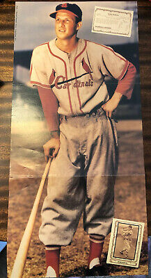 CARD INSERT LOT SEE LIST /& SCAN FREE COMBINED SH 2 STAN MUSIAL 2001 UPPER DECK