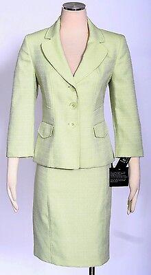 LE SUIT Pale Crabapple Sz 10 Women's Skirt Suit $200 New
