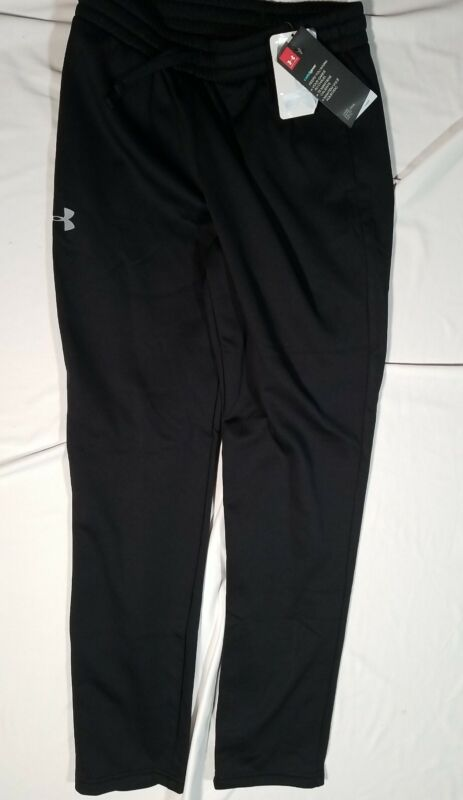 Under Armour COLD GEAR Loose Fit Training Sweatpants (Youth Large) Black