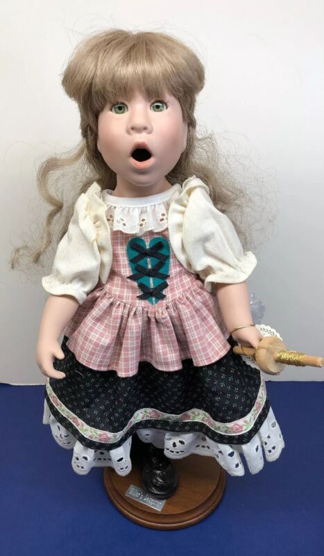 """15"""" Good Kruger Limited Porcelain Dolls """"Fairytale Series: Miller's Daughter"""""""