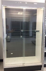 Glass Display Cabinet with sliding glass door