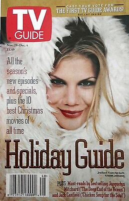 KRISTEN JOHNSTON 1998 TV Guide Sonny BONO Jacquelyn MITCHARD Jack CANFIELD