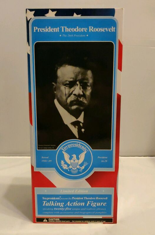 President Theodore Roosevelt Action Figure NEW IN THE BOX