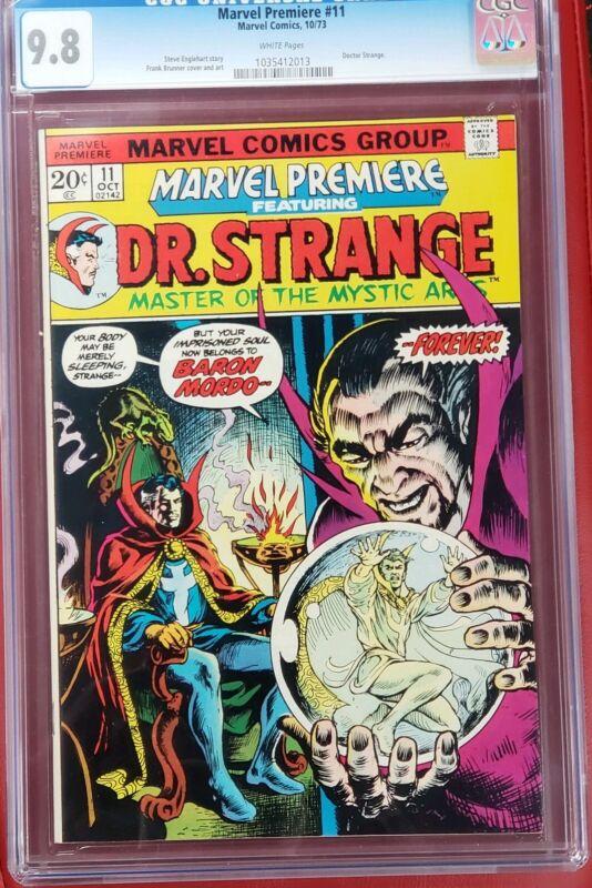 Marvel premiere #11 cgc 9.8  Dr. Strange White Pages Doctor Strange