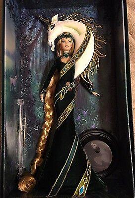 Barbie Lady of the Unicorns-Bob Mackie 2008 Gold Label Doll-RARE-Imperfect Box