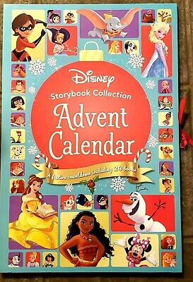 NEW Disney Princesses Storybook Collection Advent Calendar 24 Christmas