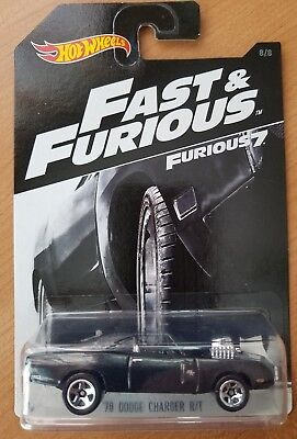 Hot Wheels Fast and Furious 7 Dodge Charger (Hot Wheels Fast And Furious Dodge Charger)