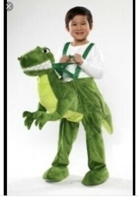 T Rex Dinosaur Rider Costume Green One Size Toddler Kids Target Plush Dino Play - Dino Rider Costume