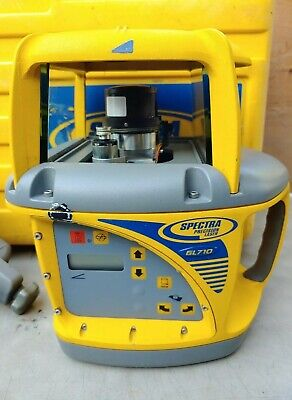 Spectra Precision Gl710 Single Slope Grade Laser Level W Hr550 Receiver
