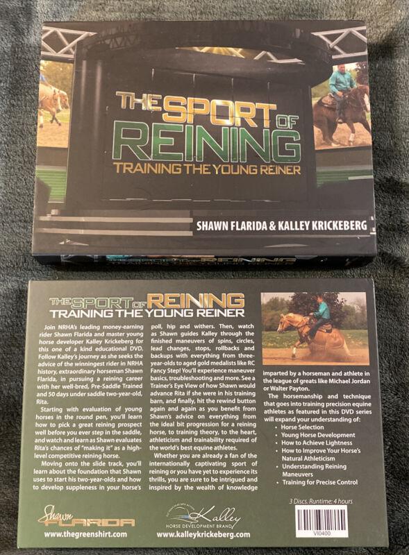 Kalley Krickeberg Parelli Dvd Sport Of Reining 3 CD Set
