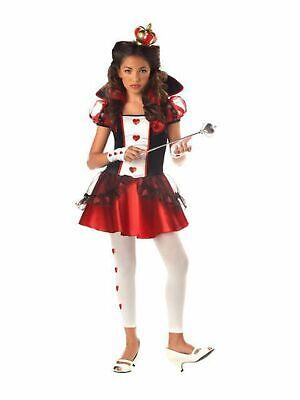 Queen of Hearts Tween Costume, Red/White California Costumes Tween Large (10-12) ()