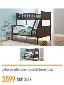 Single Over Double Bunk Bed Beds Gumtree Australia Greater