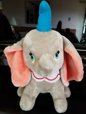 "VINTAGE DISNEYLAND DISNEY 21"" DUMBO PREMIUM STUFFED ANIMAL *HIGH QUALITY!!* 🎪🐘"