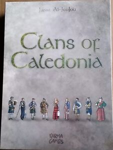 *** CLANS OF CALEDONIA GAME OF THE YEAR STRATEGY BOARD GAME ***