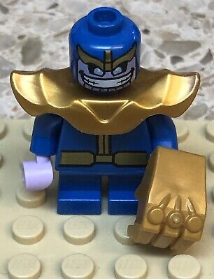 Lego Marvel Super Heroes Mighty Micros Thanos Minifigure 76072