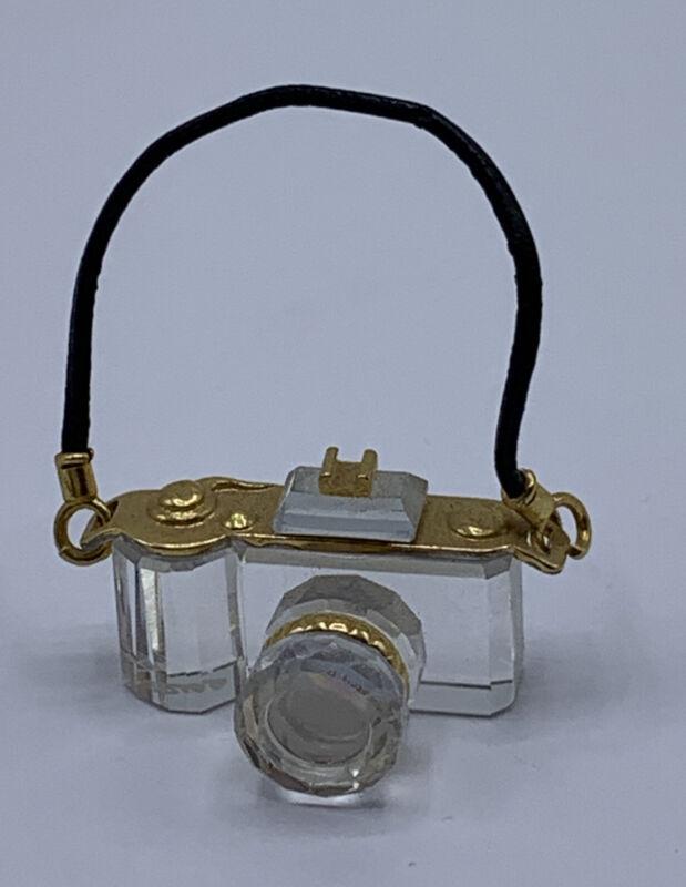Swarovski Crystal Memories Classics Camera With Box Nice!!