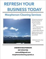 Refresh your business today! Commercial Cleaners