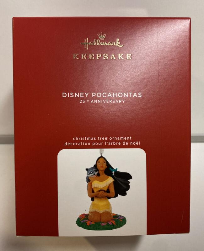 2020 Hallmark Keepsake Disney 25th Anniversary Pocahontas Porcelain Ornament