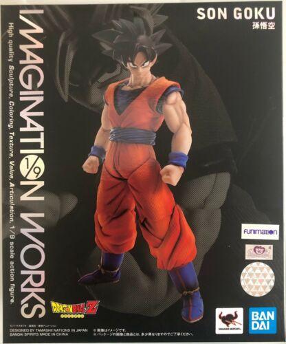 Bandai Son Goku Imagination Works Dragon Ball Z Action Figure Tamashii Nations