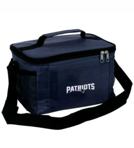 NFL New England Patriots Lunch Bag - Insulated Box Tote - 6-