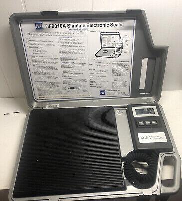 Tif 9010a Ac Slimline Electronic Refrigerant Scale