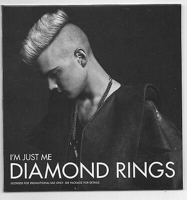Diamond Rings I'm Just Me Limited Edition Promo CD & Vinyl L