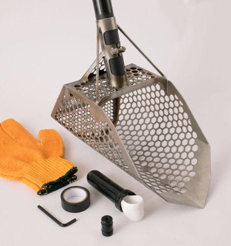 Genuine STEALTH 720i X-treme Hybrid - Metal Detecting Scoop w/Carbon Fiber Hdle