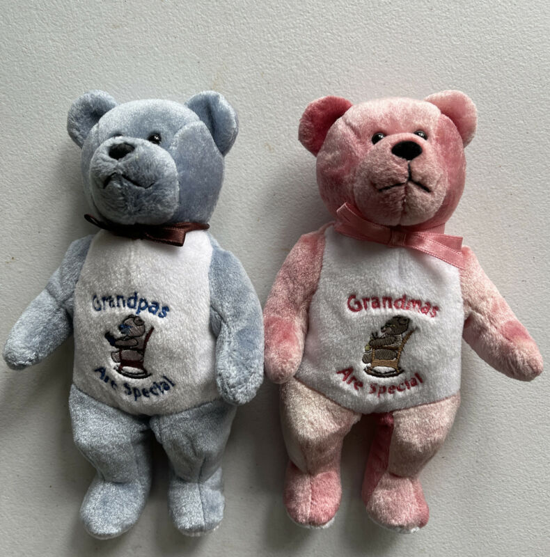 Original Holy Teddy Bears Grandpas Grandmas Are Special Beanie Plush