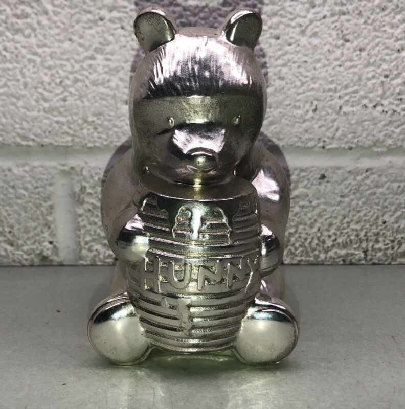 Reed & Barton Disney Winnie The Pooh Silver Plated Coin (piggy) Bank Child