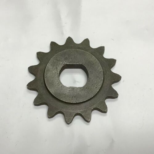 15 Tooth Sprocket Dual D-bore for #25 chain for electric scooter motor MY1020