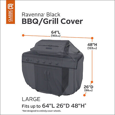 Ravenna Gas BBQ Cover Large - Outback, Weber & Other BBQs 64